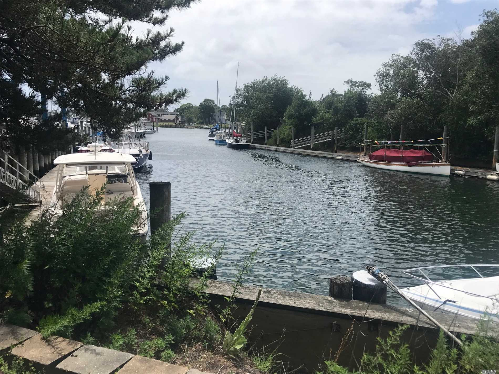 A Chance To Own A Unique Waterfront Property In Greenport And Make Money At Your Own Marina. 190' Linear Feet Of Bulkhead. A Passive Income Can Be Yours. A Perfect Place For A Yacht Club, Boat & Yacht Sales Office, And Marine Related Business.