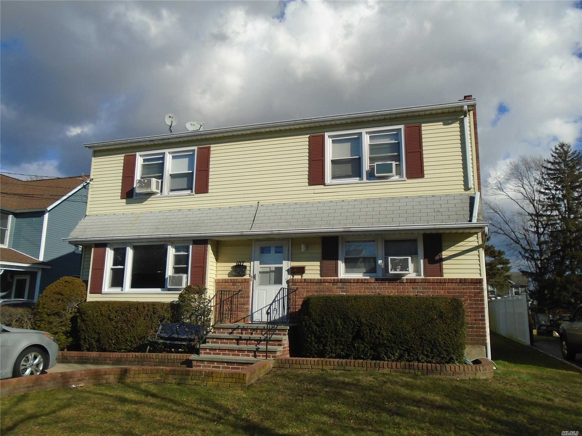 Legal 2 In Village Of Farmingdale. 5 Over 5 With Full Fin Bsmt Ose. 150 Deep Yard. Parking In Driveway And Front Of House. Great Investment Or Multi Family. Co Attached To Listing.