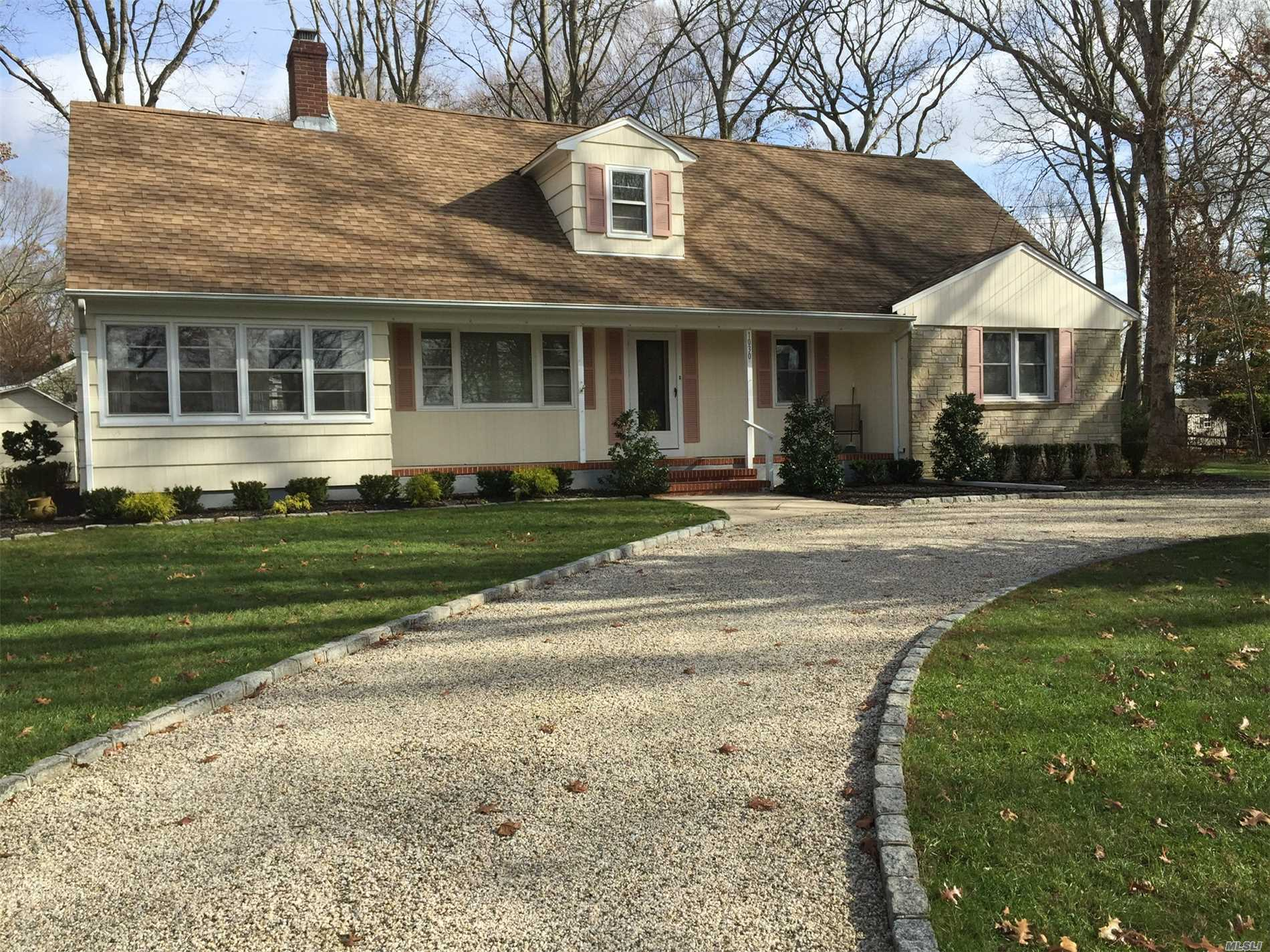 Mint 5 Bedroom Colonial With Lr/Fpl, Eik, Dining Area, Sun Filled Family Room, 2 Baths, Full Basement, New Gas Heat Situated In Desireable Private Community With Water Rights. Good Value @ $599, 000.00