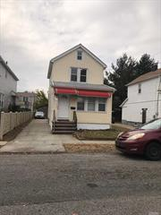 Beautiful 1 Family House, Very Big Back Yard, Detached, 3 Bedrooms, 1 Full Bath, Full Finished Basement, Private Driveway. 35 X 105 Lot