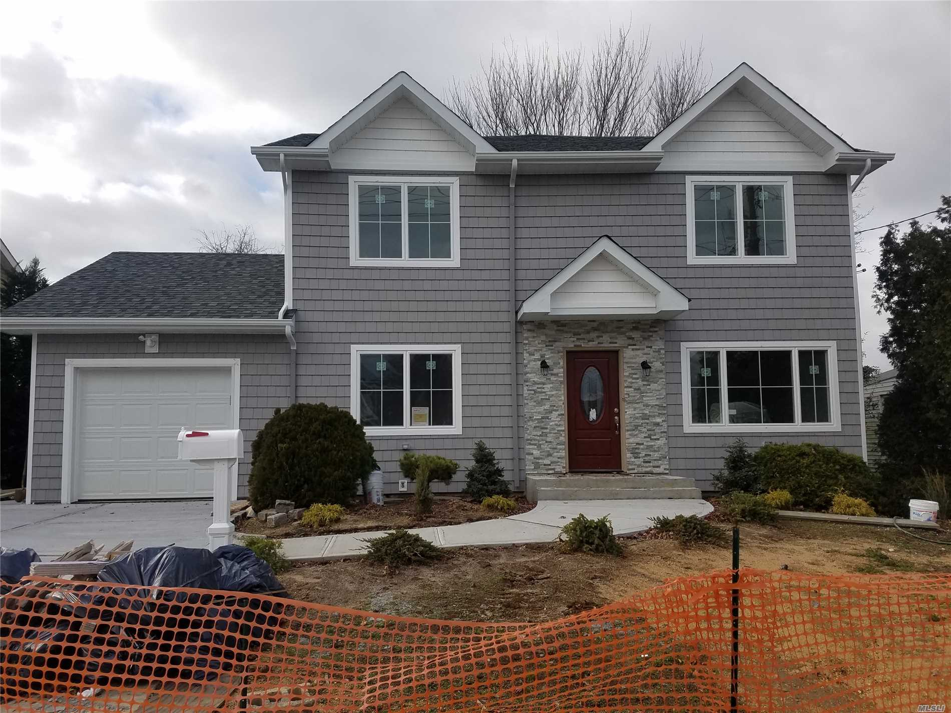 New Construction. 4Br/3Ba. Open Floor Plan. Finished By End Of January. Taxes Are Being Grieved. Buyer Can Pick Finishings!! Builder Has Other Properties For Sale!
