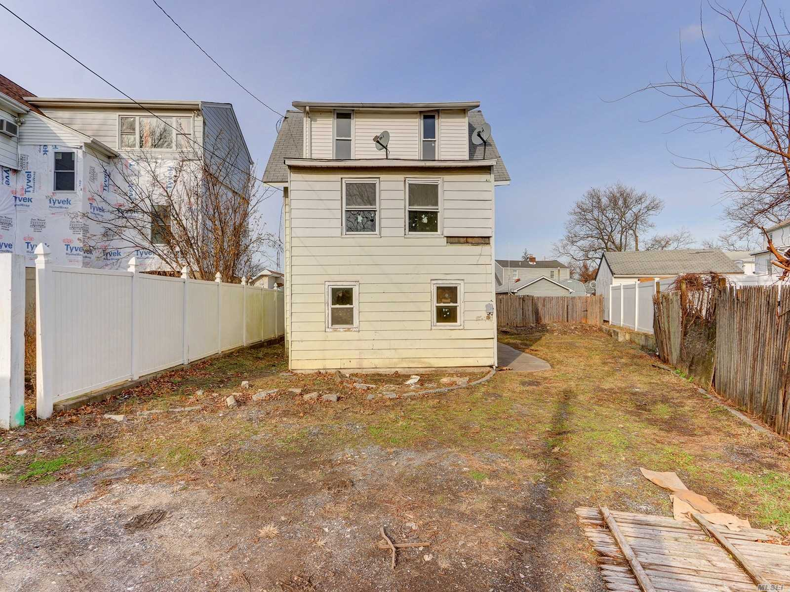 Colonial Style Home. This Home Features 4 Bedrooms, 2 Full Baths, Formal Dining Room & Eat In Kitchen. Centrally Located To All. Don't Miss This Opportunity!