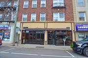 Two Storefronts Combined Or Potential To Split The Spaces. 970 Sq Feet Plus Same In Basement. Steps From Lirr.