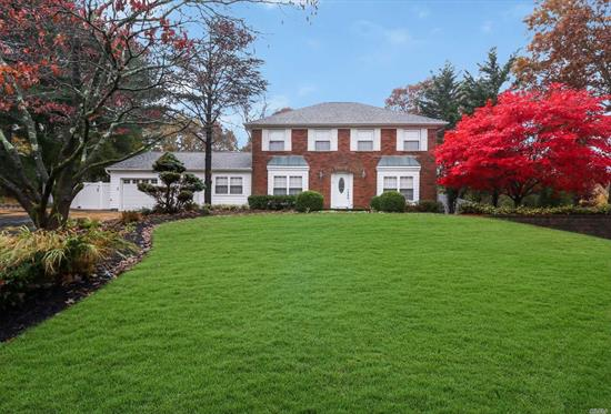Stately Colonial W/ Great Curb Appeal On Beautifully Manicured Landscaping. This Fully Updated Beauty Checks Off Everything On Your List! Fantastic Layout ! Pretty Eik W/ Ss Appliances & Formal Dining Room, Formal Living Room, Den W/ Wood Burning Fpl, Space For A Den, Office & Even A Guest Bedroom! All Bedrooms On 2nd Floor Including Your Very Own Large Master W/ Walk In Closet & On-Suite. Not To Mention It Sits On A .51 Acre Of Land W/ A Ig Pool! Do Not Let This Get Away!