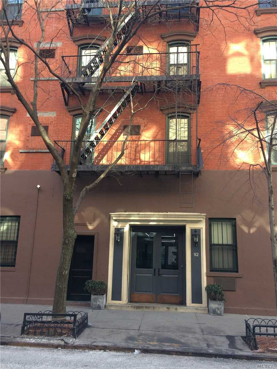 Lovely Coop Unit Located In The West Village Section Of Manhattan. Unit Features Living Room/Dining Room Combination With One Fireplace, Galley Kitchen, One Bedroom, And One Full Bathroom.