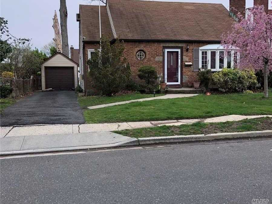 Very Spacious Cape In Lovely Condition! Big Kitchen Space, Perfect For Someone Who Loves To Cook. Mbr With Newly Renovated Ba On The Main Floor. Needs A Little Tlc To Make The House Perfect!