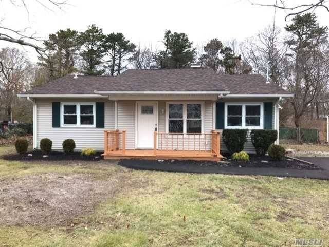 Affordable Home In Esm Schools! Renovated 3 Bdrm Home W/Eik (Ss Appliances), Dinette, Living Rm, Den/Playroom/Formal Dining Rm, Master Bdrm W/2 Closets Full Bath W/Tub. Ceiling Fans, Hi Hat Lighting. Plenty Of Storage W/ Coat Closet, Linen Closet, Laundry Rm/Pantry&Pull Down Attic, Covered Front Porch, Double Wide New Asphalt Driveway, Fenced Rear Yard. The Costly Items Of Running/Maintaining A Home Have Been Replaced-Brand New Roof, Burner, Electric Panel, Oil Tank. Why Rent When You Can Own? Hurry!
