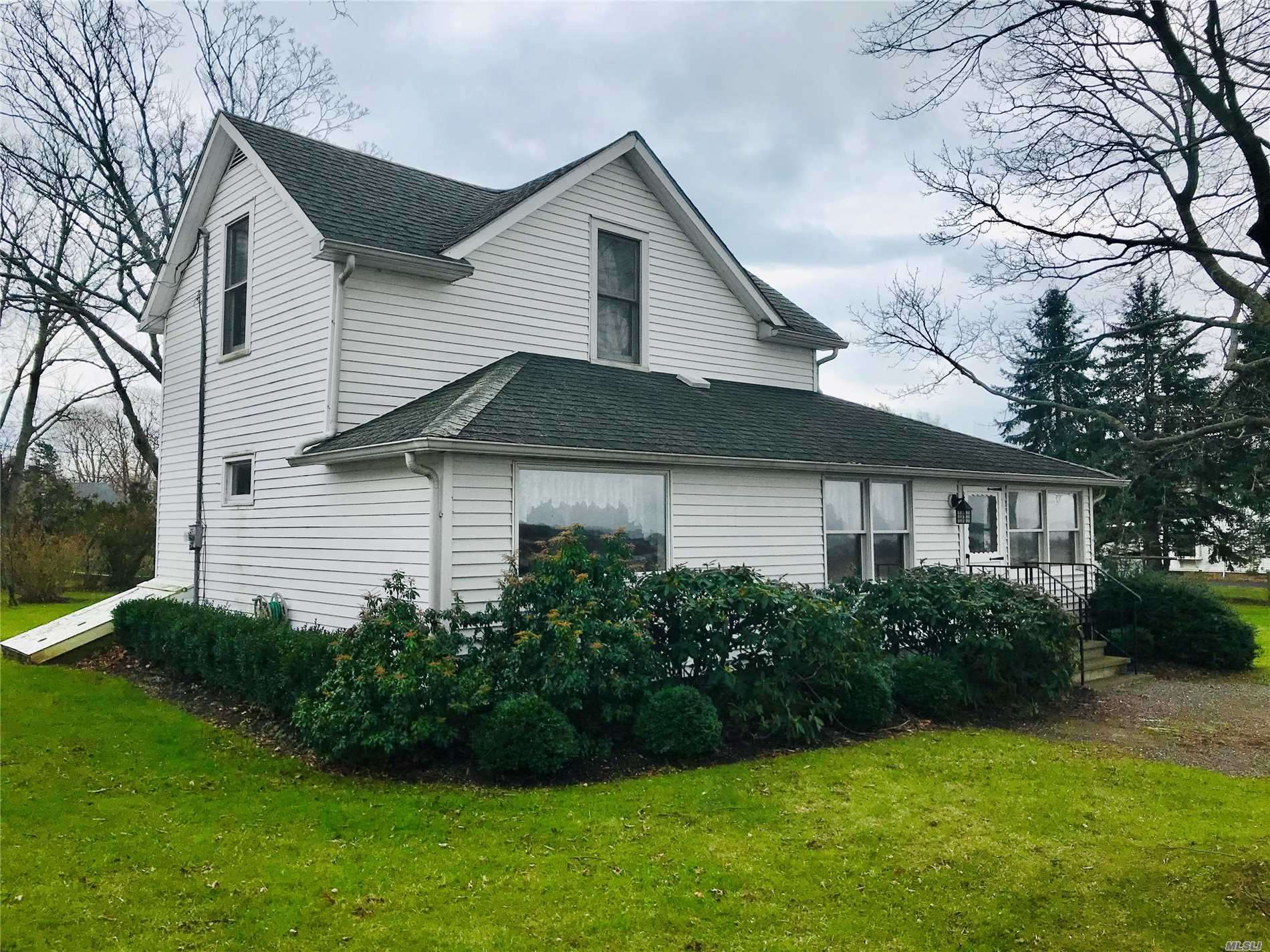 Two Bedroom, Two Bath Farmhouse Set On 1/2 Acre Overlooking Farm Fields And Bay In Orient. Bright And Sunny Home With Beautiful Exposure, Close To All Village Amenities, Jitney To Nyc, Farm Stand, Bay And Sound Beaches.