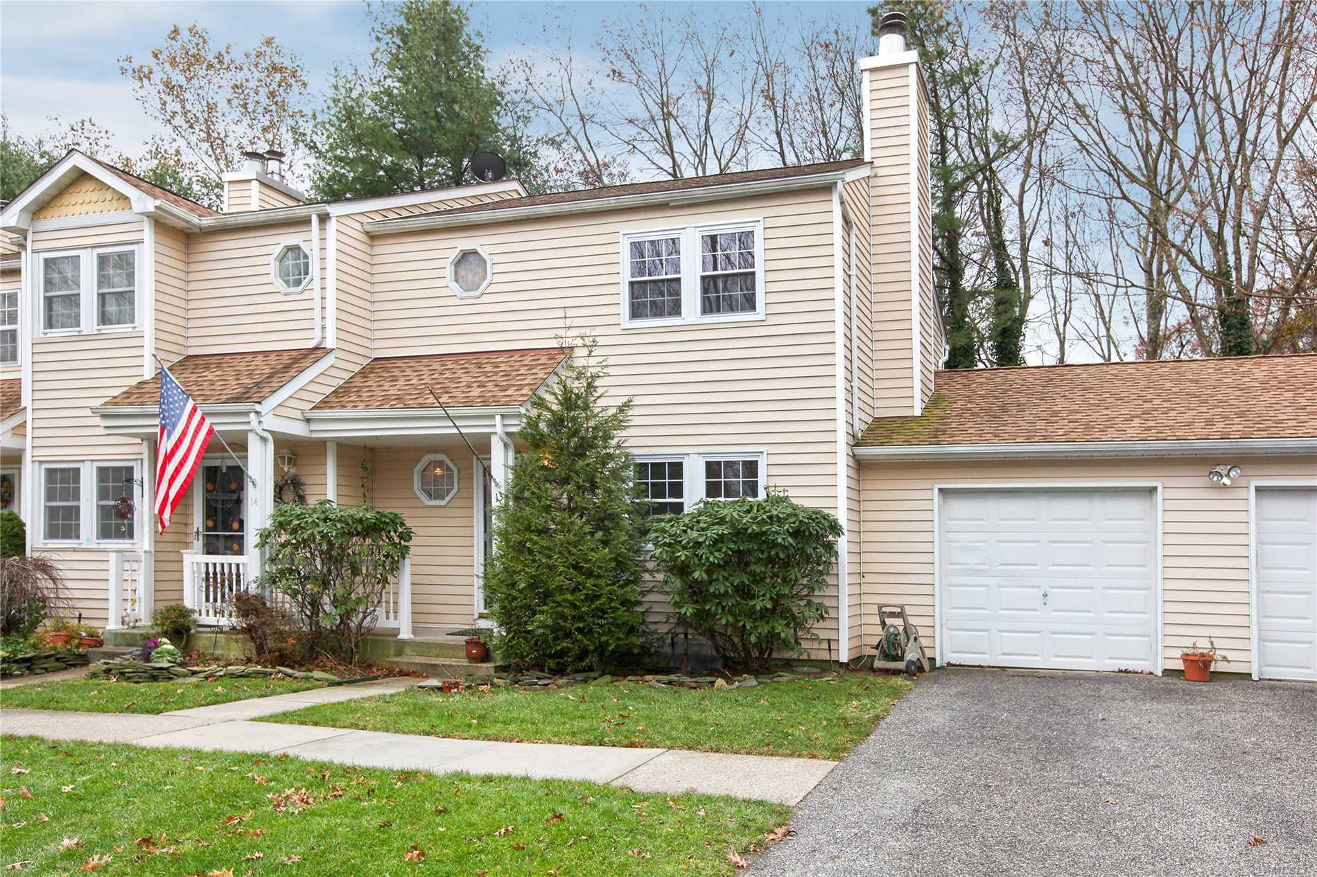 Wonderful Three Bedroom Cedar Model End Unit With Attached Garage, And Full Basement. Unit Features A Fireplace, Formal Dining Room, Two Half Baths And A Large Full Bath. Whispering Pines Offers Community Inground Pool, Tennis, Clubhouse, And More! Heat And Air Updated!