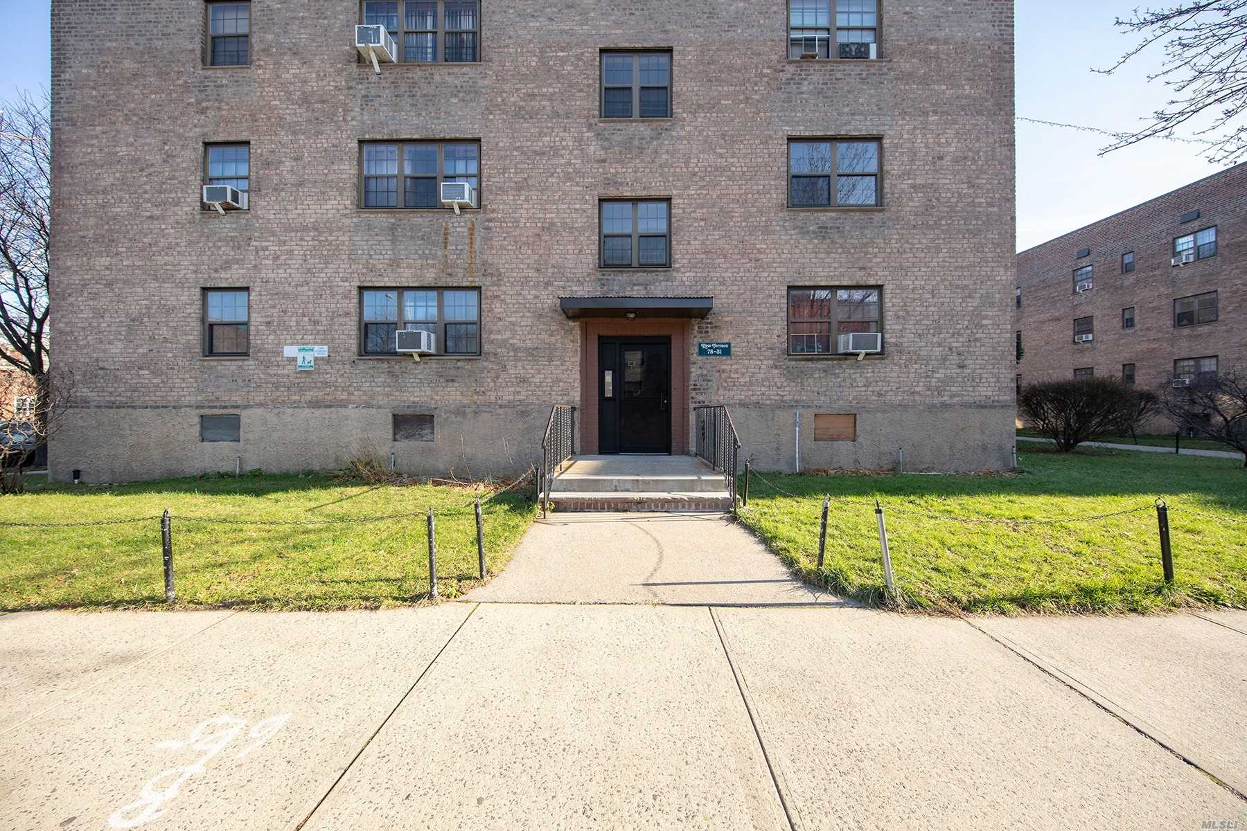 This Coop Will Not Last, Top Floor Unit, Sunny & Spacious, Updated Kitchen & Bathroom, Hardwood Floors Throughout, Parking Available Through A Wait List, Close To All Transportation To Nyc, Q20, Q25, Q44, Q46 To E & F Trains & Express Bus,