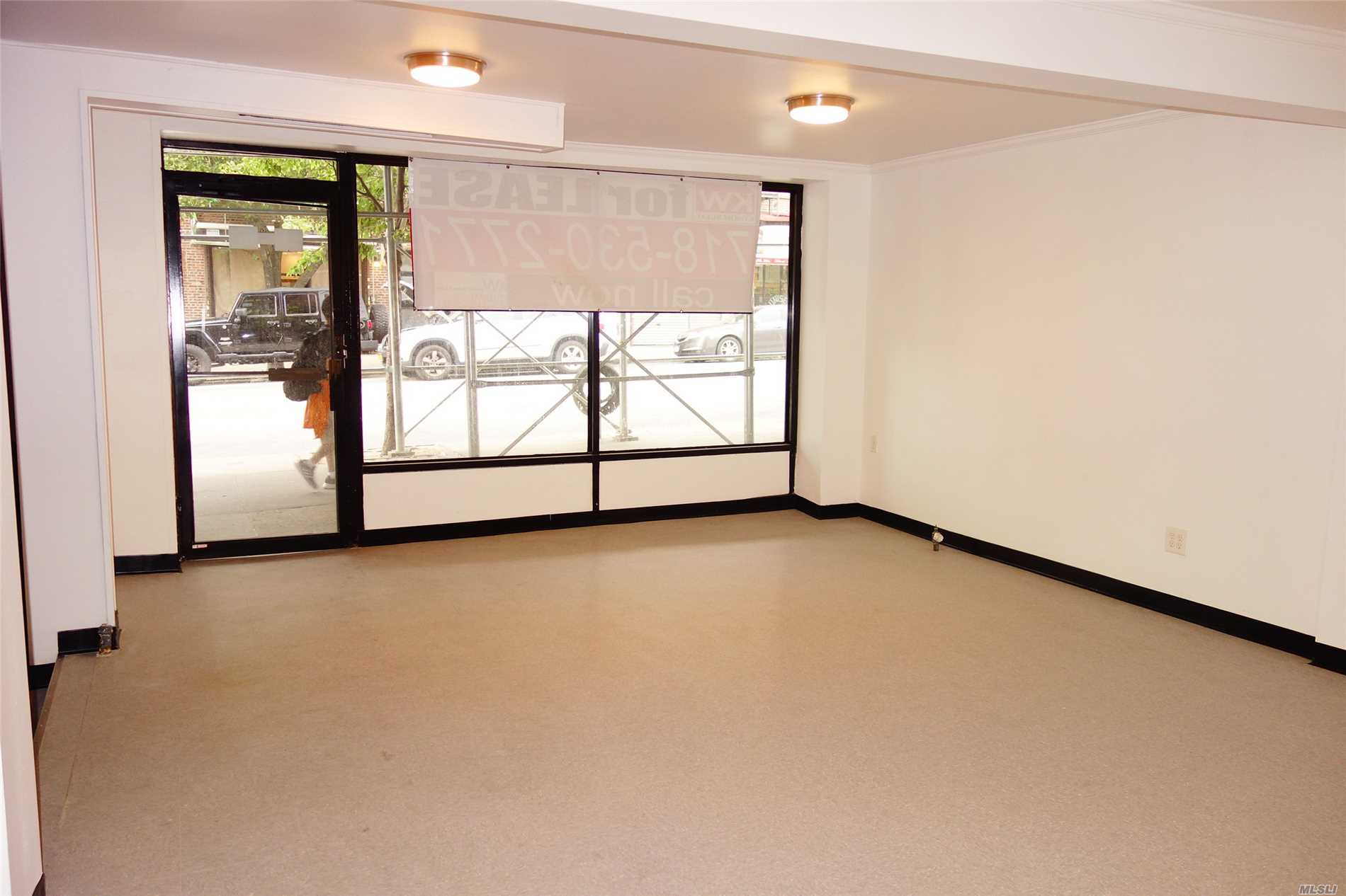 389 Sf Commercial Store For Lease. No Basement. $1750 Per Month @ 3910 47th Ave Sunnyside...