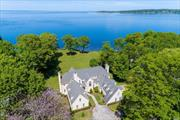 Enjoy Coastal Living In This Captivating Waterfront Home On 2.1 Usable Acres. Panoramic Views To Connecticut & Breathtaking Sunrises From Most Every Rm. Gourmet Kitchen Adjoins Fam Rm Creating Approx 800 Sqft Of Living Space W/ French Doors To Rear Deck. Expansive En-Suite (5) Rm Master W/ Private Deck. 1st Fl Laundry, En-Suite Bdrm & Back Stairs. Rec Rm & Indoor Regulation Size Racquetball Ct Complete This One-Of-A-Kind Retreat! Lloyd Harbor Village Beach/Summer Camp/Tennis/Mooring Rts (Fee)