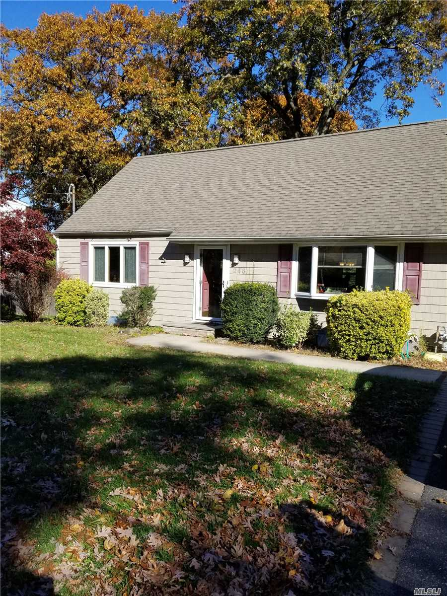 Cozy Cape Located In East Northport. Has 3 Bedrooms , 2 1/2 Baths Partially Finished Basement With Utility Room. Formal Dining Area , Comfortable Living Room With Fireplace Adjacent To Family Room. Spacious Yard With Shed. Close Proximity To Shopping And Transportation.