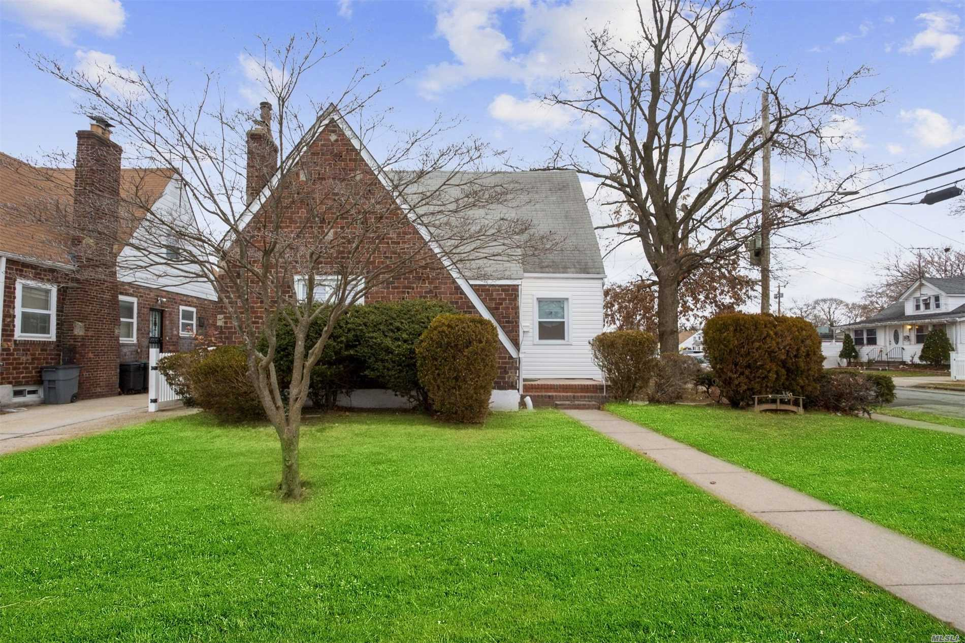 Hempstead. A Must See Home. Beautifully Done No Expense Spared Totally Renovated Brick Cape. Brand New Kitchen Appliances, New Bathrooms, New Floors. New Electric, Plumbing, Gas Heating System, Boiler And Hot Water Tank. Close To Highways And Shopping. Move In Ready.