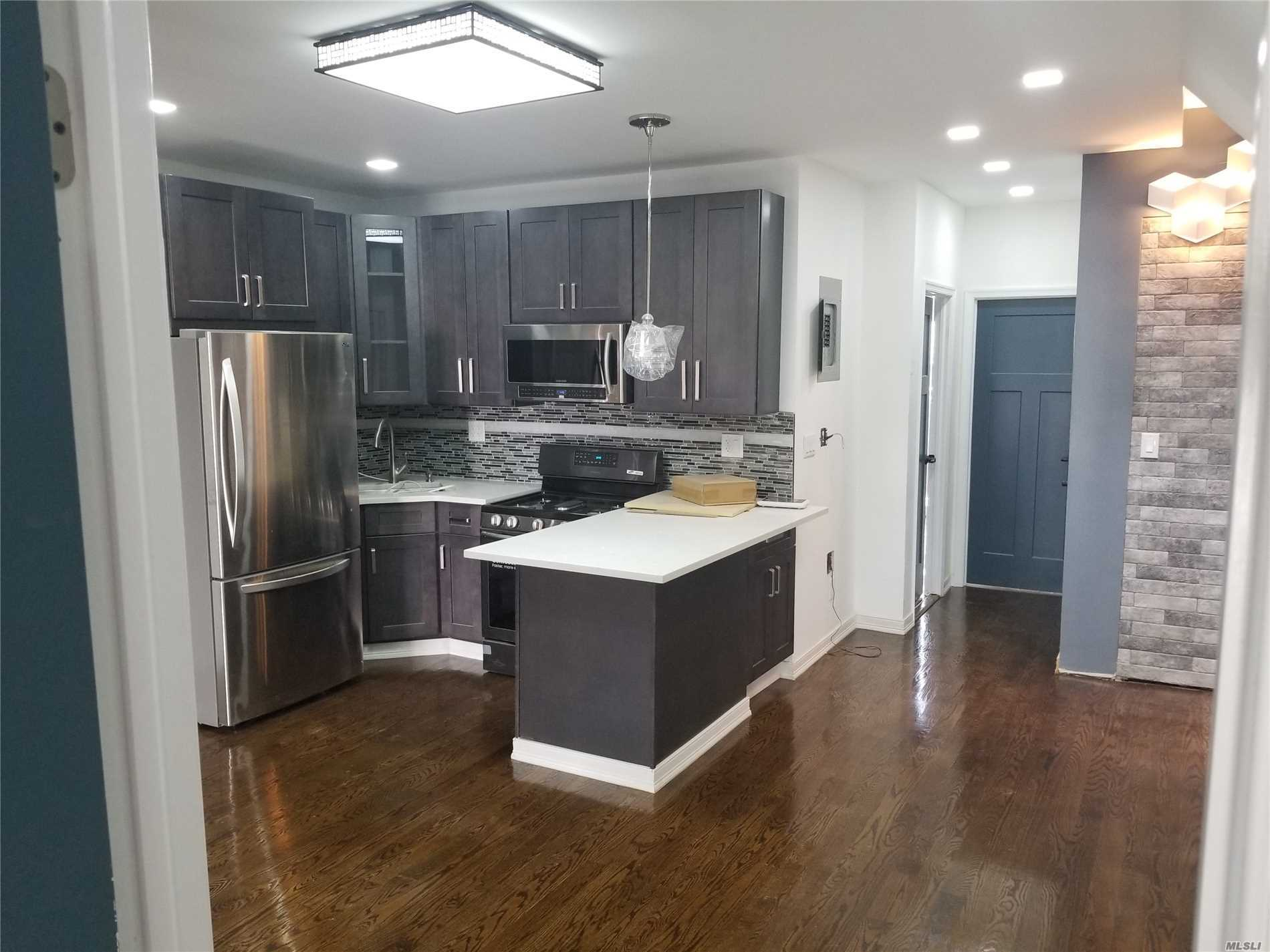 Just Renovated, 3 Brs Could Be 4 Brs, 2 Baths And Balcony. Heat & Gas Included, Walking Distance To Subway And Other Public Transportation, A Must See!!!Park,