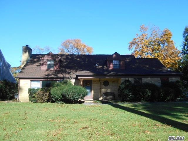 A New Year= A New Home!!! This Expanded Cape On Oversized Lot (Room For Pool) Has Enormous Potential. 4 Br, 2 Full Baths, Cac, Wbfpl, Igs In The Prestigious East Williston/Wheatley Sd On A Great Block W/ Close Proximity To Village Hall, Lirr, Town, Houses Of Worship. A Golden Opportunity!