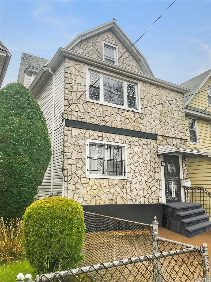 Welcome To Richmond Hill! Fantastic Investment Opportunity, Legal Two Family In The Heart Of Richmond Hill. Conveniently Located Near The Van Wyck Expressway, Conduit, Belt Parkway And Walking Distance To The A Train (Lefferts Blvd), This Huge Two Family Will Be Sure To Accommodate All Sizes Of Families Featuring 3 Over 3 Bedrooms. In The Back Of The Property You Have 1 Car Garage. More Pictures To Follow Soon..