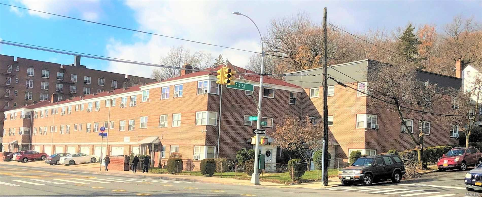 Gorgeous 36 Garden Apartment Building For Sale In The Heart Of Hillside Avenue, Queens Village. It Has 36 Apts. (22) 2Br & (14) 1Br And 36 Storage Space. All Rented, Tenants Pay Utilities. Building Is In A Sophisticated Area. Renovated With Brand New Roof. 12 Two Story & 4 Three Story. Attached Building. More Potential Income For 36 Storage & 16 Parking. Near To All Major Highways & Malls. Yearly Income Appx. $741K.