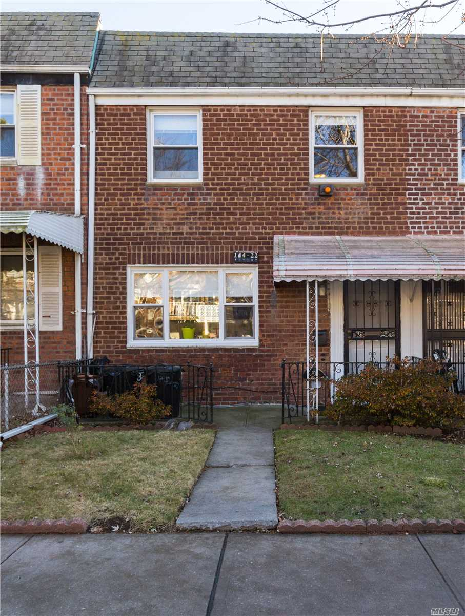 Rare Opportunity To Own This Highly Desirable 1 Family Brick Townhouse In The Prime Location Of South Flushing/Kew Garden Hills. R4 Zoned!This House Is In Great Condition. It Features 3 Spacious Bedrooms , 1.5 Bathrooms, A Modern Kitchen, And A Full Finished Basement. It Also Offers 2 Exclusive Parking Spaces In The Backyard. Great Location! It's Convenient To Queens College, Restaurants, Lie, Shops, Supermarket, Direct Buses To Downtown Flushing And So Many More Benefits!