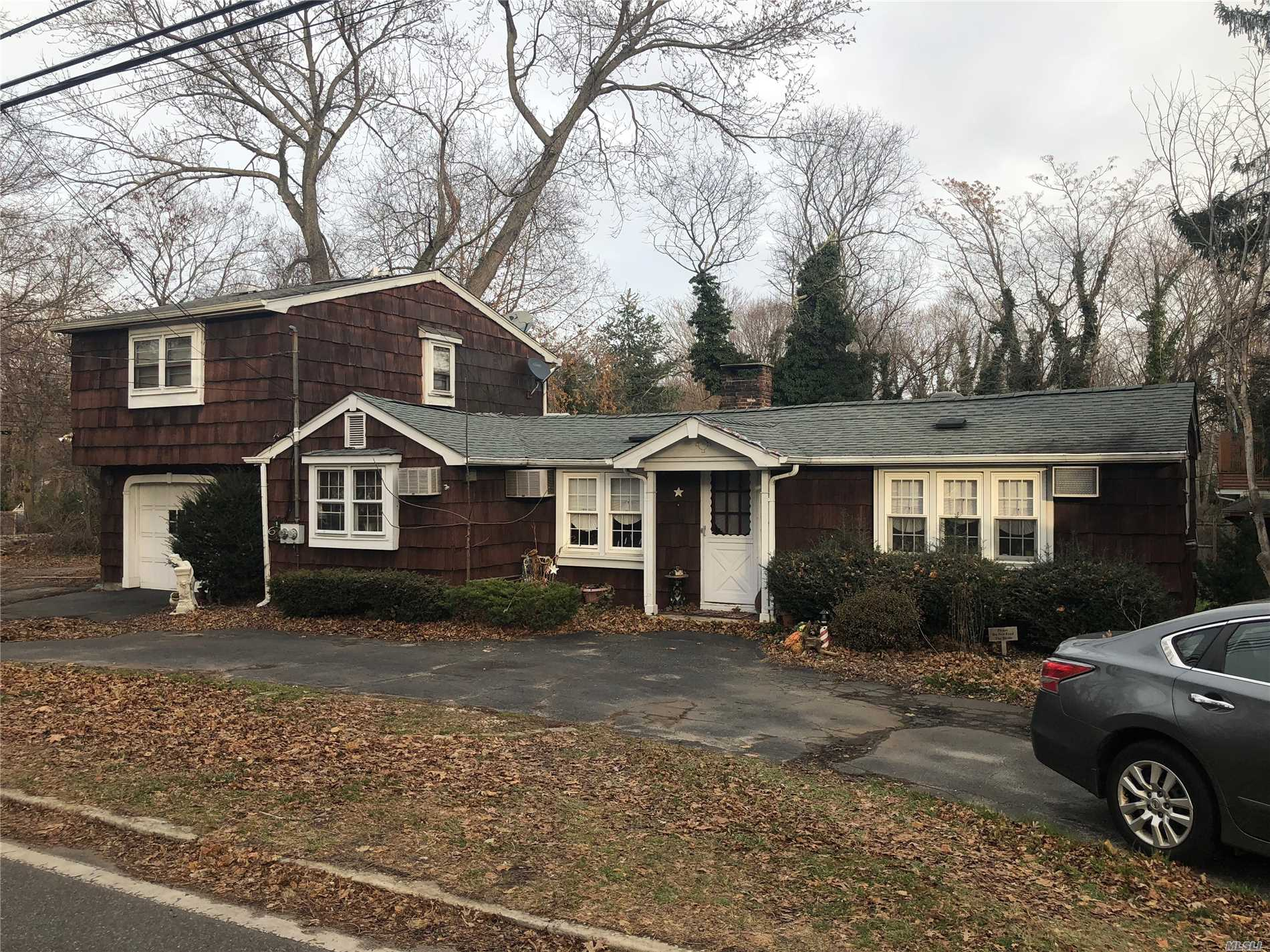 This Home Has A Lot Of Potential. Located In Port Jefferson Village Close To Shopping, The Beach And Mather Hospital. House Is A Single Family With An Accessory Apartment Up Stairs. Great Price, Low Taxes, Will Not Last!