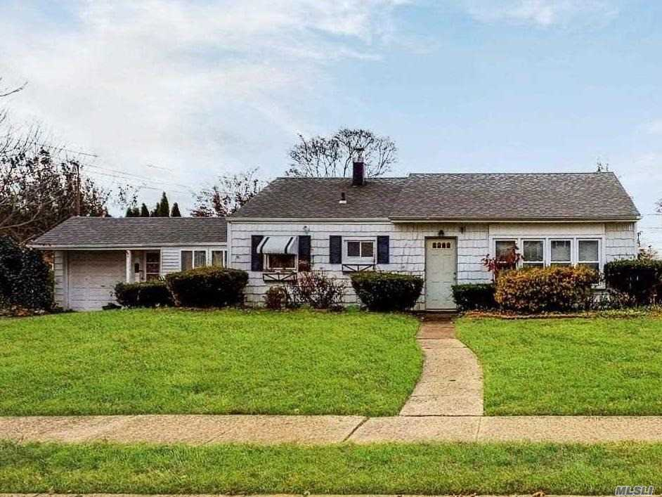 Ranch Located On Oversized Lot In Massapequa And Close To All Including Lirr. House Is Ready For Some Tlc With Tons Of Potential To Update Or Expand And Call Your Own As A Great Entry Point Into The Area And Massapequa Schools. Being Sold As-Is - Investors And End Users Welcome!