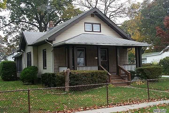 Cold Weather...Hot Buy!! Investors Lucky Find On This Large 94 X 125 Property, On Quiet Dead End Street. Home Is A 2/3 Br 1920'S Cottage W 1220Sq Ft. Great Potential, Needs Updating - Offers Living Room W High Ceilings*Formal Dr* Screened Rear Patio, Front Porch*Oil Burner Was Put In 2017, Gas Cooking* Wood Floors Under Carpet*Pvc Fenced Property* Finished Attic With Baseboard Heat/ Could Be 3rd Br* 2 Car Det Gar. Home Strictly As Is...No Representation! Cash Preferred ...Proof Of Funds Required!