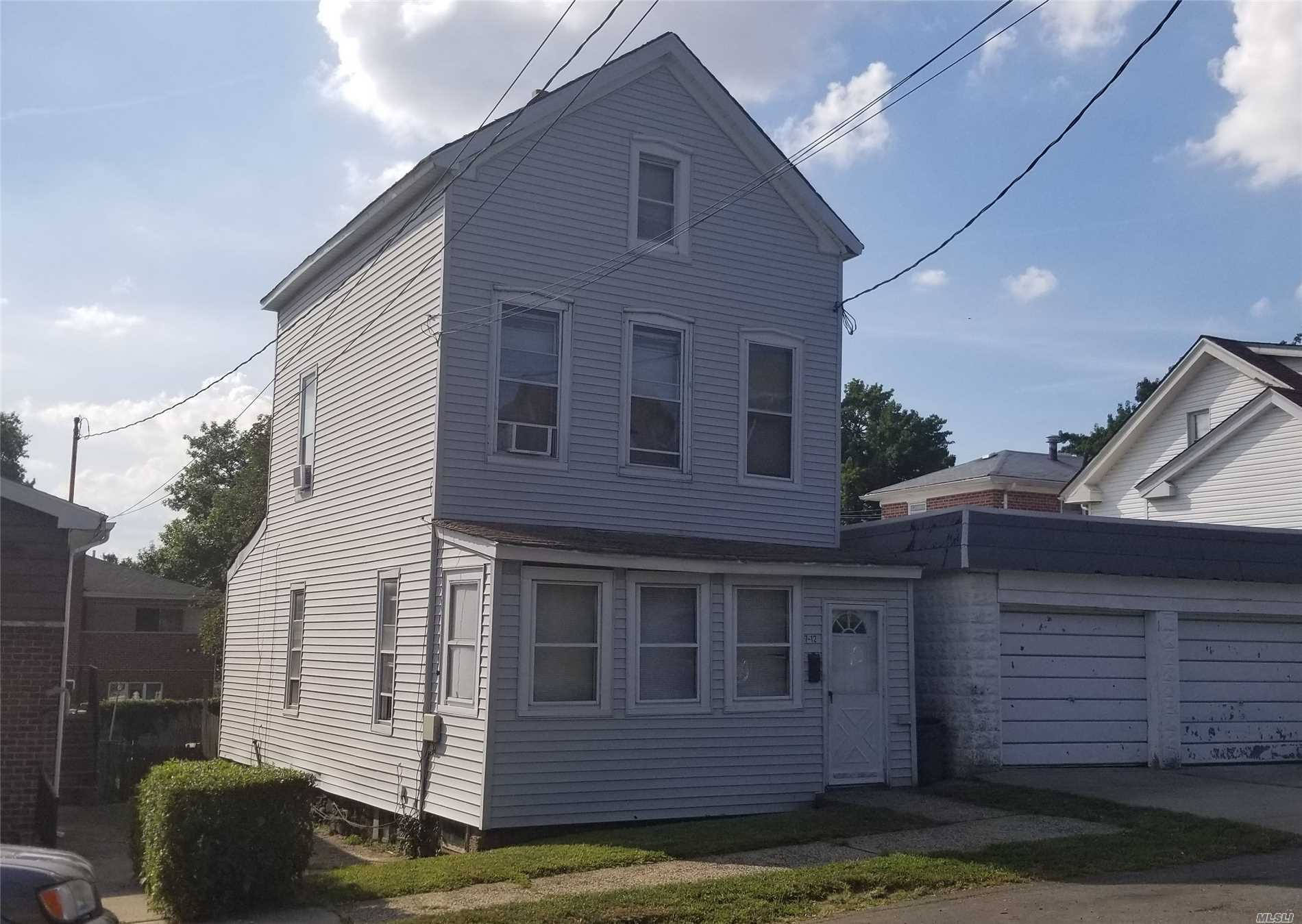 Outstanding Location In A Very Desirable Part Of College Point. Great Opportunity For A House Thats Needs Some Tlc To Make It Sparkle.  Make This Home Yours Before Another Family Does. Won't Last!!!