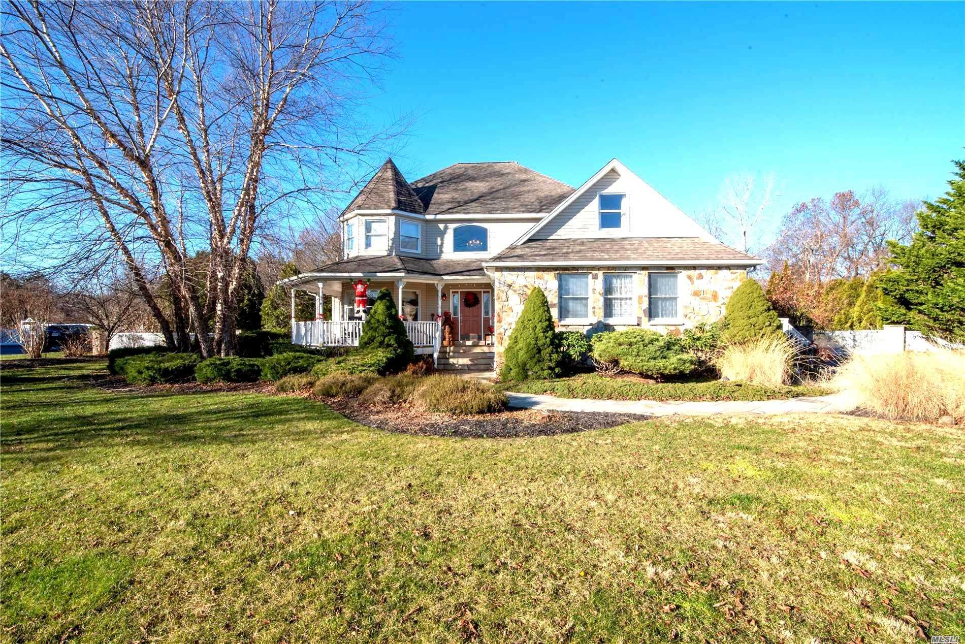 Desired Meadow Crest Offers Victorian W/Granny Porch Nestled In Cul-De-Sac With Country Club Back Yard W/2 Yr Saltwater Pool, Outdoor Kitchen Includes Pizza Oven, D.C.S. B.B.Q.. Refrigerator W/Bluestone Patio And 2.5 Car Det. Garage W/Loft.Complete Guest Quarters. Kitchen W/Radiant Heat &Granite Flrs, Counters, Farm Sink. 2Frplcs, Wdflrs, Upper Level Laundry, Cvac, Full Finished Basement. Mins To Beach, Dining, Shopping, 495....
