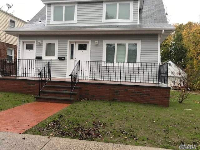 Landlord willing to pay half of the rental commission. Beautiful New 2nd Floor Apartment With Cac And Laundry In Unit. 2 Bedrooms Immediate Occupancy. Close To Lirr And Shopping. Ll Requires Proof Of Income And Credit Check.