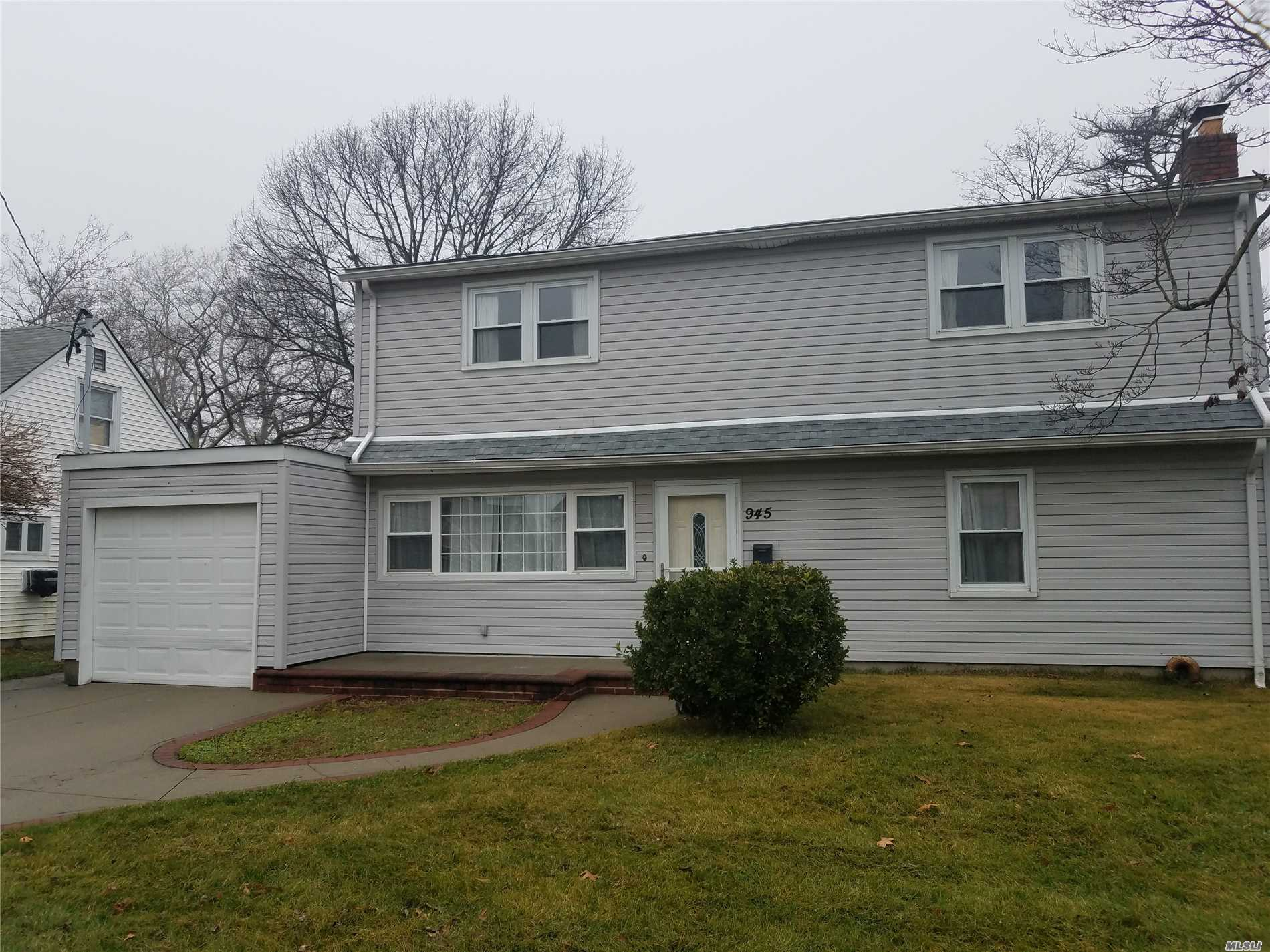 4 Bedroom, 2 Bath Colonial. Newly Updated Eat-In-Kitchen, Formal Dining Rm, Living Rm W/ Fireplace, Gleaming Hardwood Floors. Whole House Water Filtration System. 2Yr Old Roof. 1 Car Garage. Meadow Elementary School. Flood Ins Not Required.