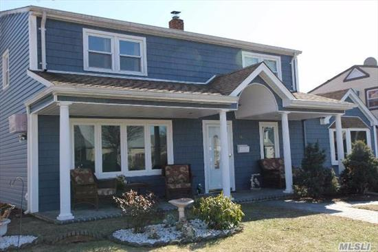 This Is The One You Have Been Waiting For!! Nestled In The Heart Of The Town!! This Spacious Colonial Features Room For The Entire Extended Family!!! A Gorgeous Covered Porch Welcomes You As You Enter The Home. A Designer Chefs Kitchen With Granite And Stainless Steel. Completely Redone Home Features New Bathrooms And Kitchen. Outside Entrance In Back. Just In Time For The Holidays!!!!