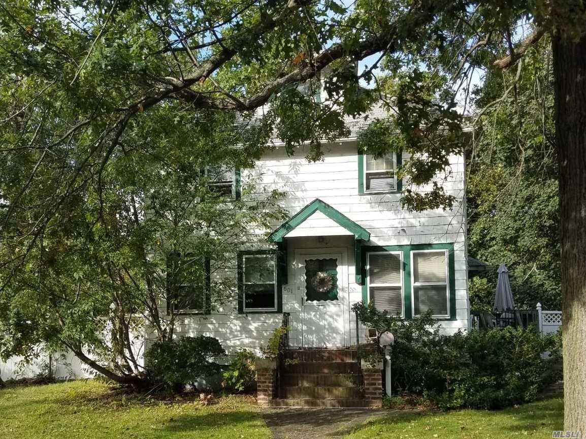 Detached Single Family Colonial With Private Driveway Located In South Hempstead Section Of Nassau County. Property Features Three Bedrooms And One Bathroom.