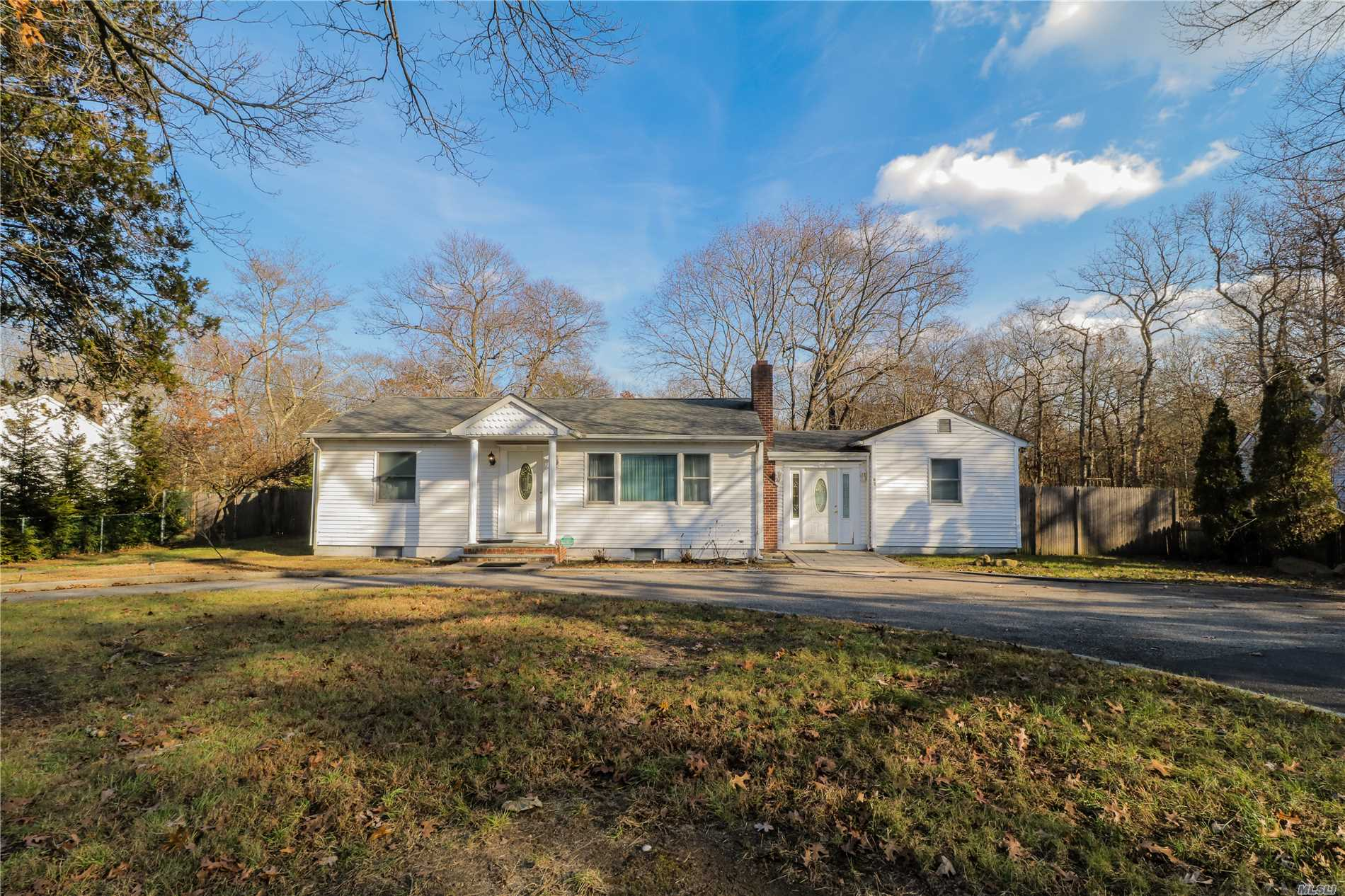 Beautiful Ranch Style Home That Sits On Almost An Acre Of Property. House Has Been Updated Over The Past Few Years. Updated Kitchen, Baths, Floors, Windows & Siding. Full Finished Basement With Wet Bar. Master Bedroom Can Easily Be Converted Back To The Original Two Bedrooms & You'll Have A 4 Bedroom Home.