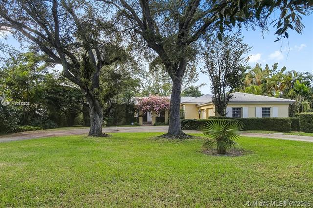 A Rare Opportunity To Buy From The Original Owner! Fun And Easy To Entertain In This Immaculate Canal Front Home With Large Marvel/Cuban Tile In The Main Areas And Terrazzo (Covered By Carpet Currently) In The Bedroom Wing. Open Out To A Large Covered Patio With Bbq, Lush Landscaping And Pool, Plus A Vista Of The Canal. The Fourth Bedroom/Bathrm Is Off The Indoor Laundry Room. Elegant Yet Casual, The Location Is Superb With A Lot Of 16, 868 Sf. Walking Distance To West Lab Elem. See This With Confidence!