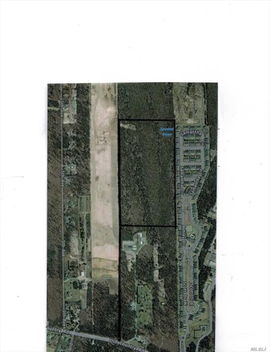 20 Acre Parcel In The Pines Westhampton Divided Off The Bide A Wee Property On Old Country Road. Just Beyond The Existing Facility In The Cr-200 Zone. Should Yield Four 5 Acre Parcels. Great Mini Estate - Bring Your Horses.