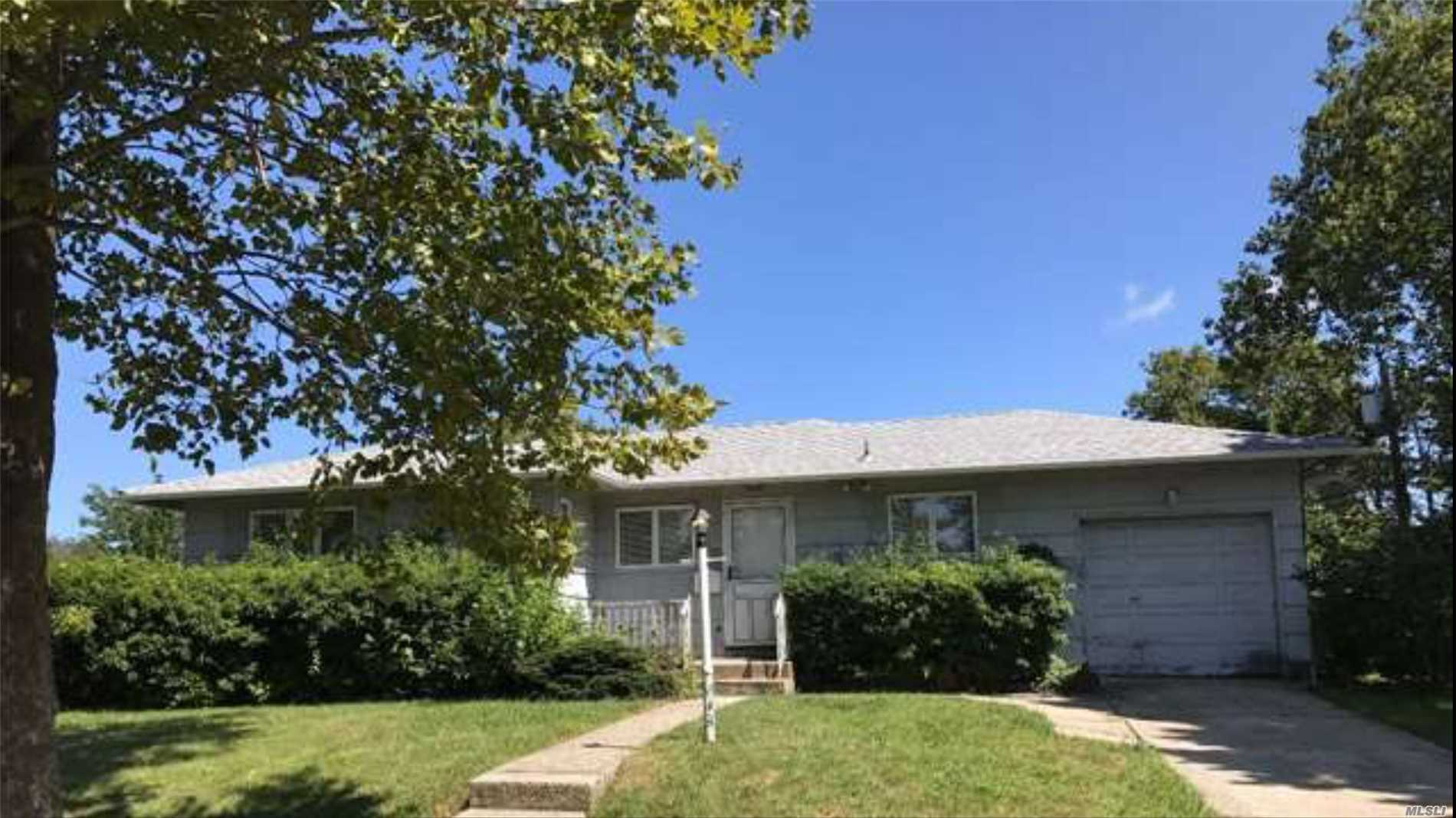 New Kitchen Gas Cooking. 3 Beds 2 Baths Full Basement. Garage With Seperate Entrenches. Close To All.