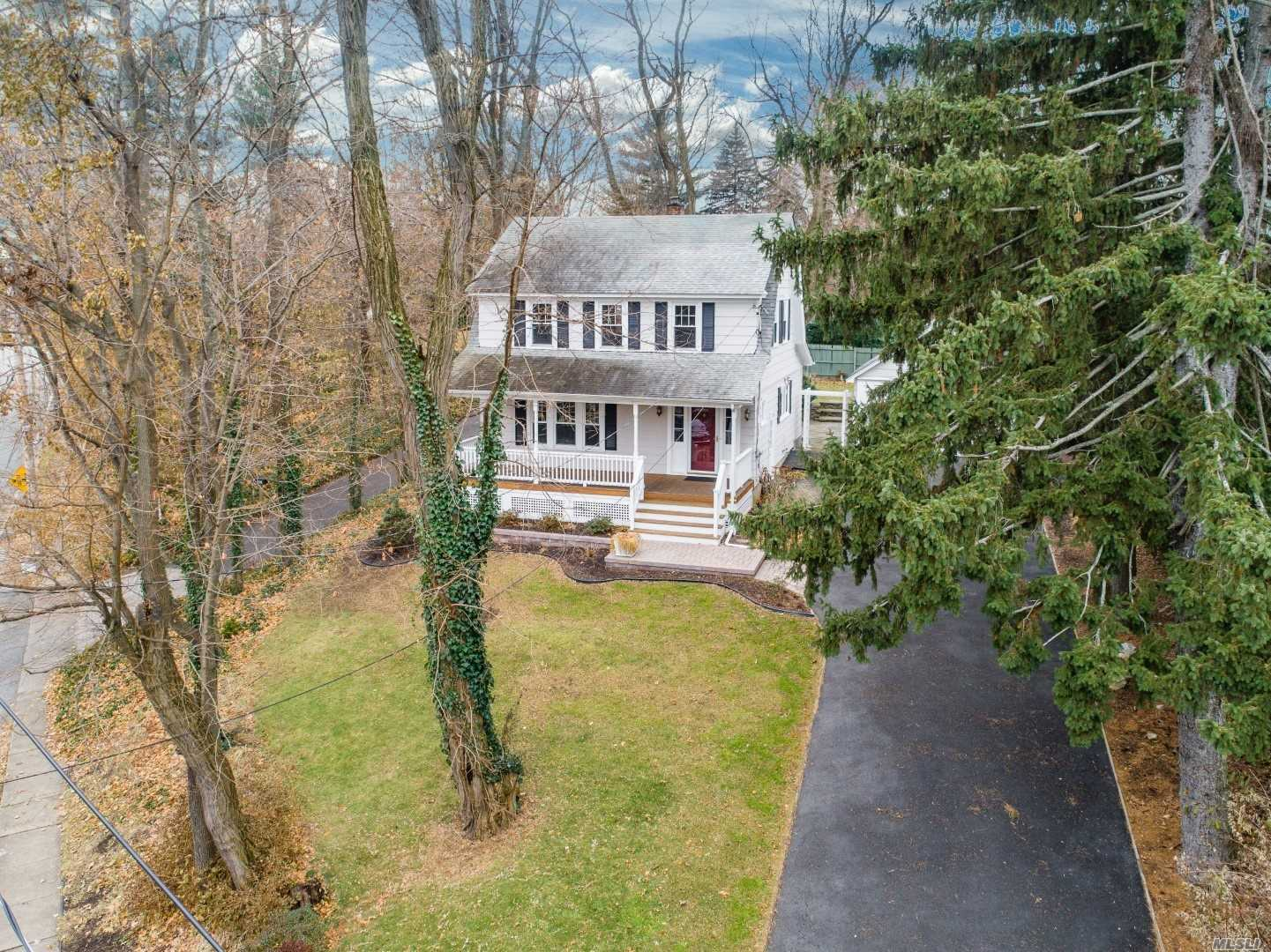 This Move-In Ready Colonial W/Old World Charm Is Fully Renovated And Ready For Its New Owner. Hardwood Floors Throughout, New Kitchen With Subway Tiles And Ss Appliances, Renovated Bathrooms, Re-Built Front Porch, Private Backyard With Patio, And Much More. A Commuter's Dream, This Home Is Conveniently Located Across From The Glen Cove Train Station As Well As Glen Cove Hospital, Nassau Country Club & Park, And Friends Academy Private School. Wont Last & Priced To Sell. Gas Line In House.
