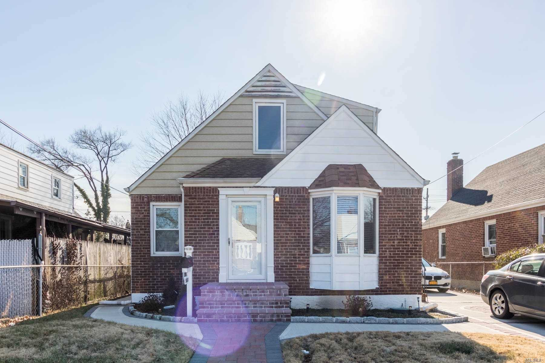 Beautiful Cape With 4 Br, Newly Renovated Kitchen, Bath Rooms, Living Room,  Very Large Lot Can Build. Nice Home Great Location. This Is A Lovely One Family Home And Spacious.
