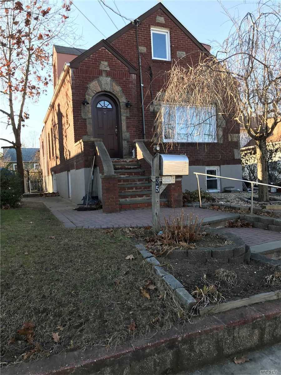 Renovated 1 Bedroom Basement Apartment With Living Room, Eik, And Full Bath. Includes Heat And Water. Tenant Pays For Cooking Gas And Electric.