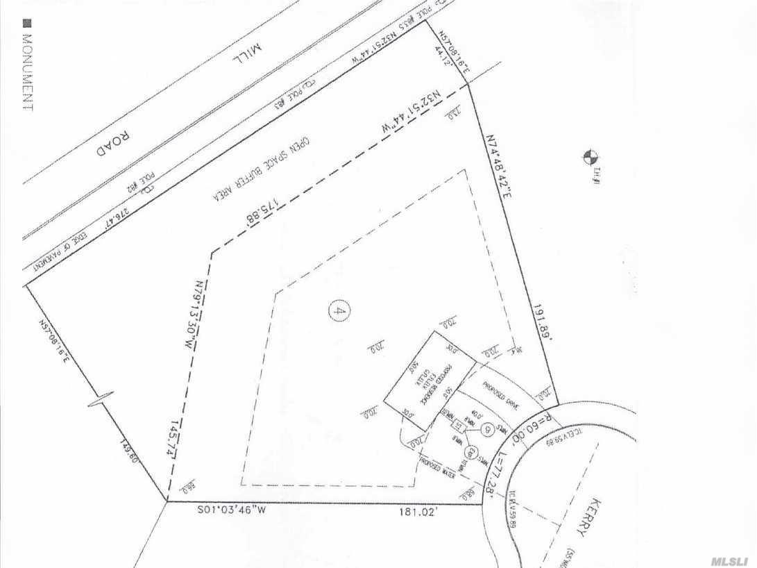 1.3 Acre Buildable Lot On A Cul De Sac! Desirable Neighborhood! Awesome Opportunity To Build Your New Dream Home!