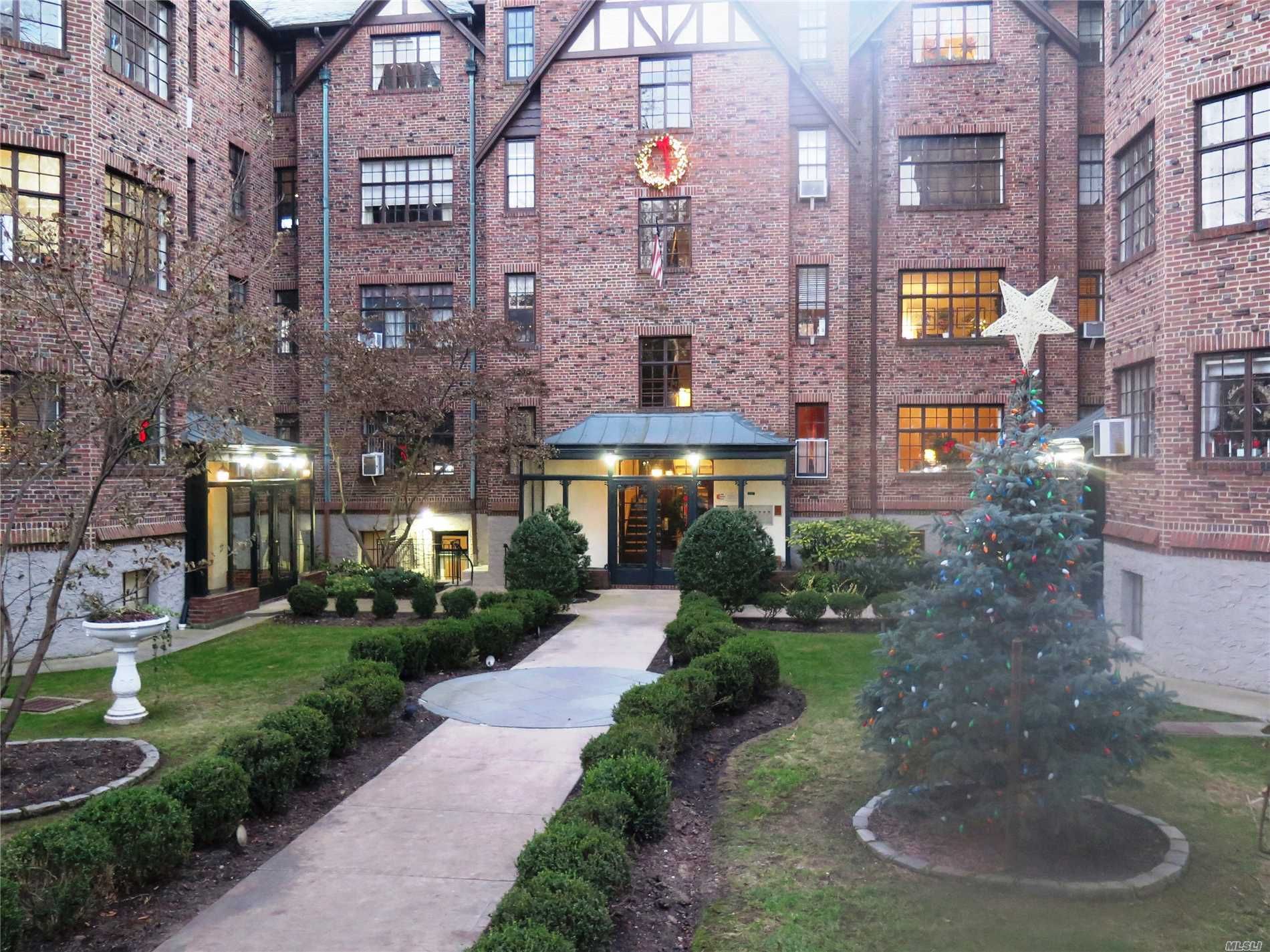 Charming 2 Bedroom Apartment With Wood Burning Fireplace In Desirable Old World Tudor Building In Douglaston. Convenient To Long Island Railroad. School District #26 - Ps 98, Ms 67, Cardozo Hs. February 1st Occupancy . Pets Allowed With Board Approval.