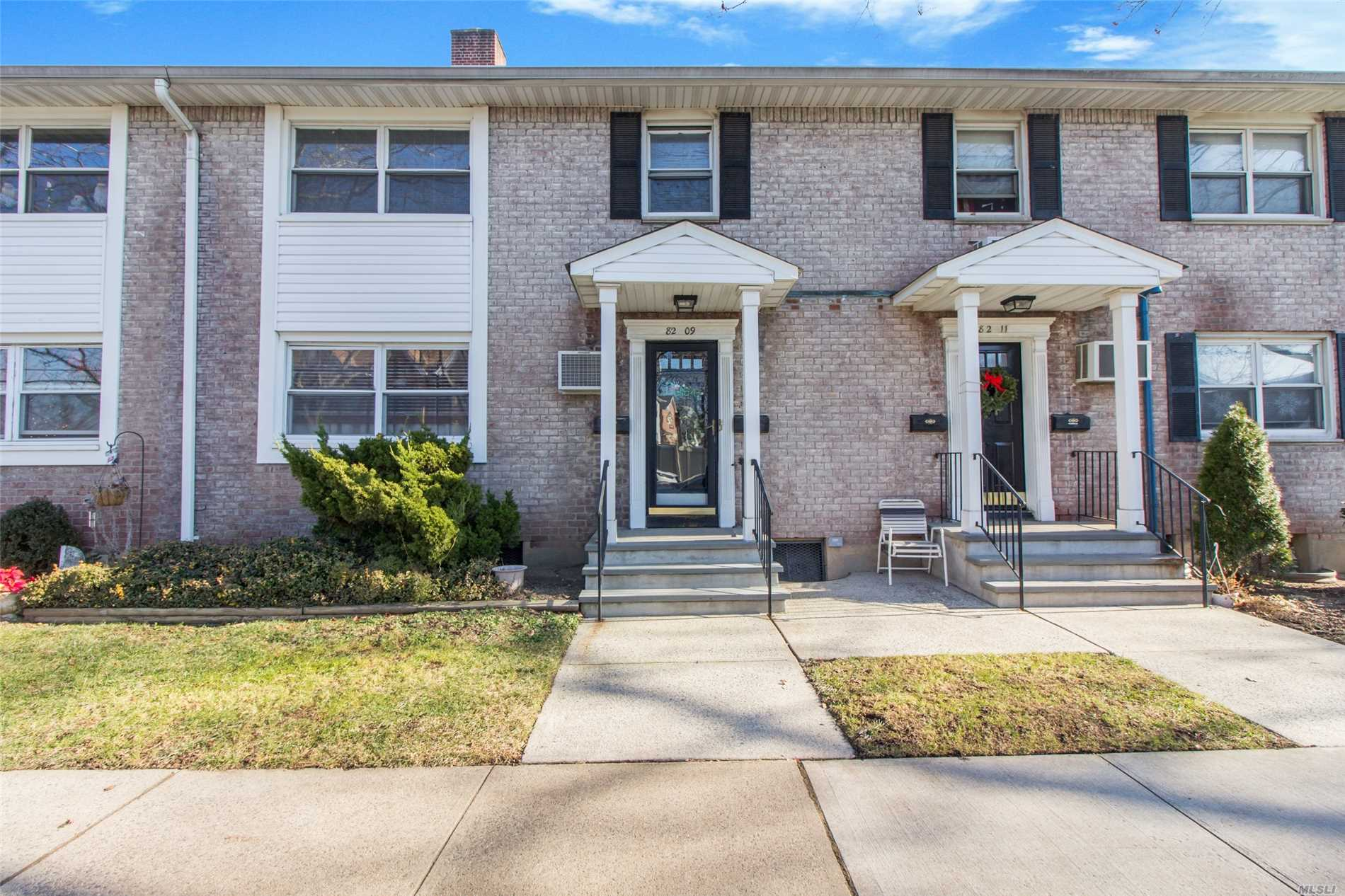 Sun-Filled Second Floor Walk Up Unit. Beautiful Wood Floors, Large Open Lr/Dr, Eik, One Bedroom, Full Bathroom And Pull-Down Attic With Plenty Of Storage. Laundry Facility In Basement And Parking Is First Come First Serve With Sticker.
