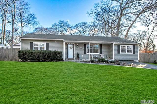 Beautifully Renovated In Last 3 Years W/New Designer Kitchen, Bathroom, New Floors, Freshly Painted Walls, New Crown Molding, Doors, Recessed Lighting & Fixtures. Stainless Appliances & Washer Dryer Under 3 Years Young. New Shed. This Home Will Not Last Come See And Make An Offer!!!