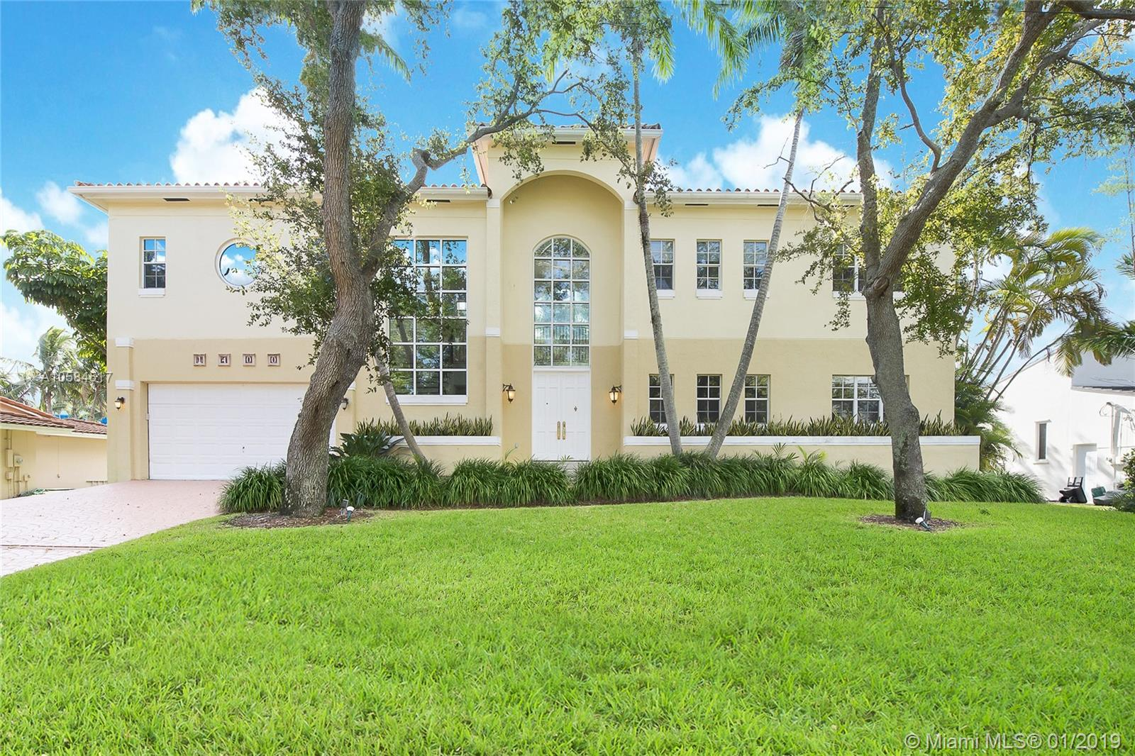 Located In Guard-Gated Gables By The Sea On A Cul-De-Sac Street With A Park, And Walking Distance To The Best Public And Private Schools. Fantastic Curb Appeal. Wonderful Neighborhood Streets Perfect For Kids And Families Walking. Great Room With A Gas Fireplace And French Doors Out To A Large Patio, Pool, Wood Deck And Canal. Inviting Family Kitchen With Double Ovens, Gas Range, And Breakfast Area. All Bedrooms Are Private With Ensuite Baths And A Large Terrace Overlooking The Water Views. A Must See!