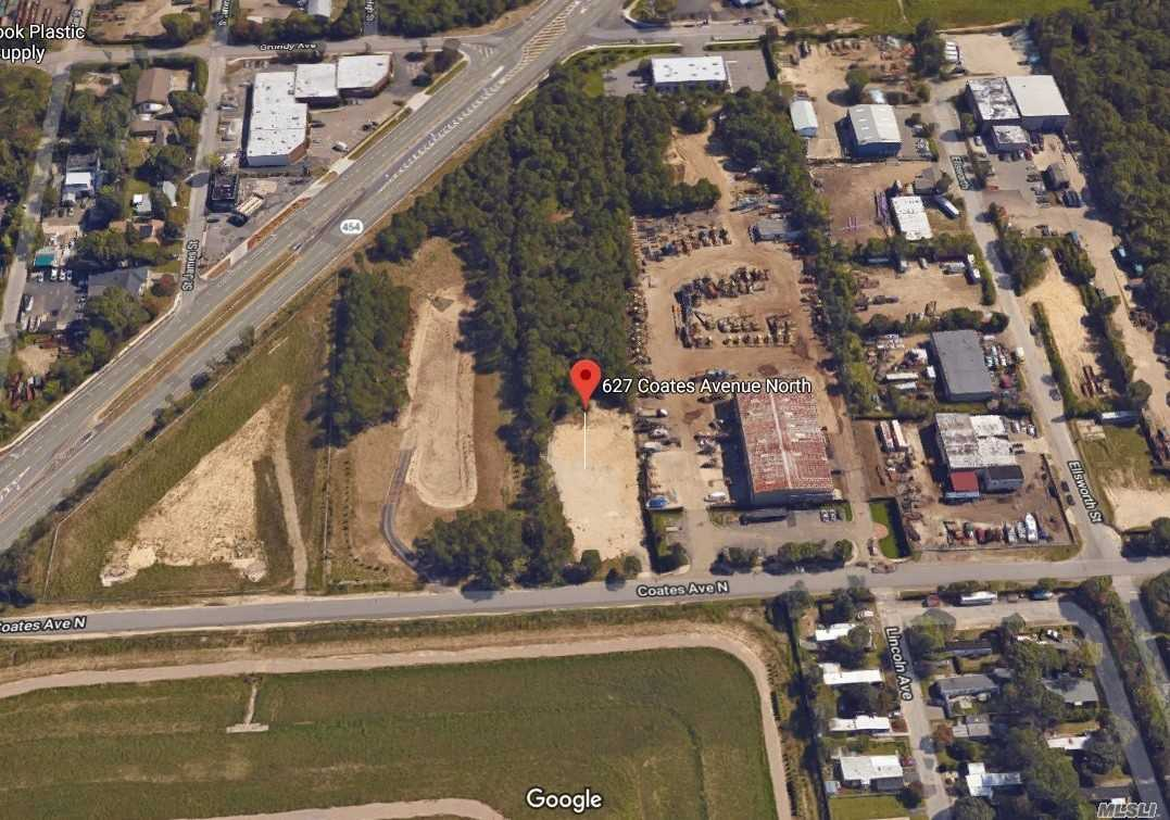 Calling All Developers & Industrial End Users! One-Acre (100' X 435'). Light Industrial (L-1) Zoned Property For Sale. Build Your Own Industrial Building. Located Right Off Veterans Memorial Highway.