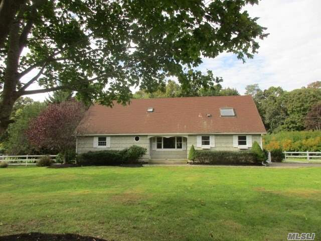 This Is A Fannie Mae Homepath Property. Spacious Expanded Cape On Shy Acre At End Of Cul De Sac. Lr, Formal Dining Room, Eik, Family Room With Semi Open Floor Plan. 5 Bedrooms And 3 Full Baths. Full Basement And 2 Car Detached Garage For Storage. In Ground Pool For Entertaining.