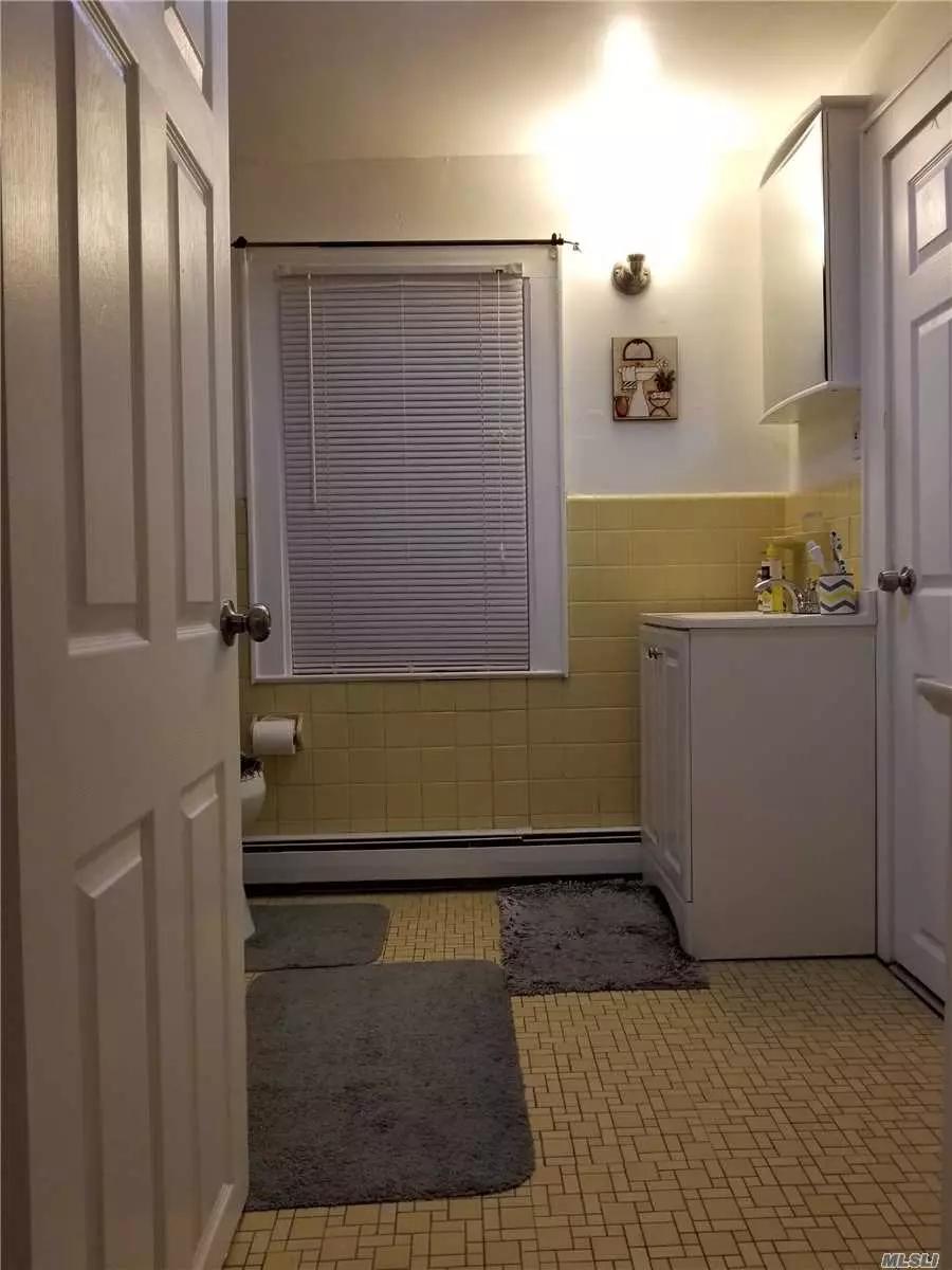 3rd Floor Walk Up 1 Bedroom, Full Bathroom, Living Room & Eat In Kitchen. No Utilities Included.