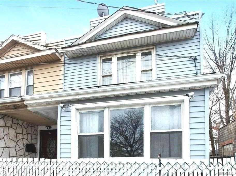 Stunning 2 Family Home In A Prime Location On Rockaway Blvd. Steps Away From The Q7 And Quick Walk To The A Train. Blocks From John Adams High School And Liberty Avenue.