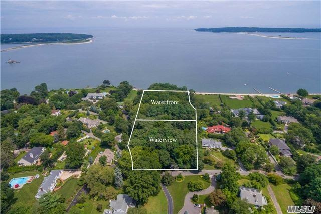 The Hamptons Alternative! Build The Home You've Always Wanted In Huntington Bay In The Wincoma Association With Private Beach And Dock! (Dues Required). 2 Beautiful Acres With Room For Pool And Tennis. Easy Access To Huntington Village And Just One Hour From Manhattan!