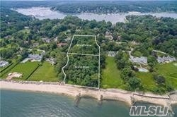 Once In A Lifetime Opportunity To Build Your Dream Home On This Fabulous 2 Acre Waterfront Parcel In The Wincoma Association With Spectacular Views Across Huntington Bay To Connecticut! Gently Rolling Wooded Parcel With 187 Feet Of Beachfront. Beautiful Location With Easy Access To All The Amenities Of Huntington Village And Just 1 Hour From Manhattan!